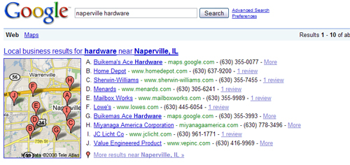How to setup a Google Map Listing for a Naperville Business
